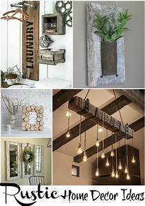 Rustic, Home, Decor, Ideas