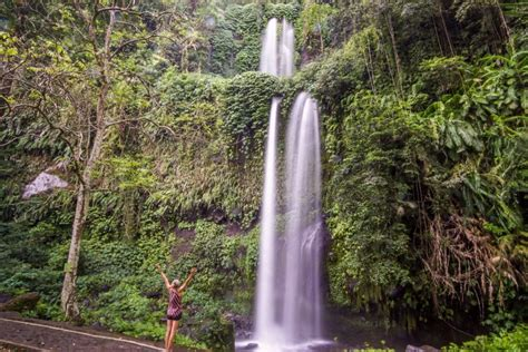 Sendang Gile And Tiu Kelep Waterfalls In Senaru Lombok