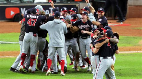 nationals win   world series    rally