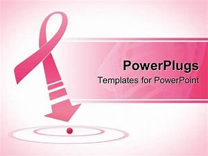 powerpoint template breast cancer awareness pink ribbon With breast cancer ppt template