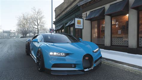Hello everyone and welcome back to the series of drag races, as requested, here is the race of two brothers, the 2011 bugatti veyron super sport,and the 2017 bugatti chiron, now lets take a look at their specifications. 1800Hp 2018 Bugatti Chiron (Snow Drive) | Forza Horizon 4 Gameplay - YouTube