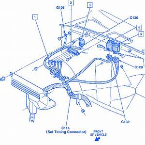 Chevy Silverado 1500 With A 5 7l 350 1993 Electrical Circuit Wiring Diagram