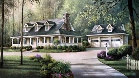 Country Style House With Wrap Around Porch by Country Home Floor Plans With Wrap Around Porch Farmhouse