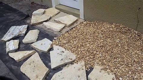 installing river rock flagstone walkway with river rock www pixshark com images galleries with a bite