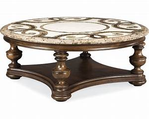 trebbiano round cocktail table stone top thomasville With round granite top coffee table