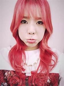 Sunny's Cute Red Hair Selca : SNSD