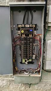 Typical 200 Amp Electrical Panel   Weatherproof