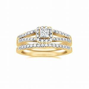 Unique wedding ring bridal set on jeenjewels for Awesome wedding ring sets