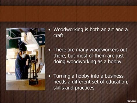 woodworking business tips   start  profitable