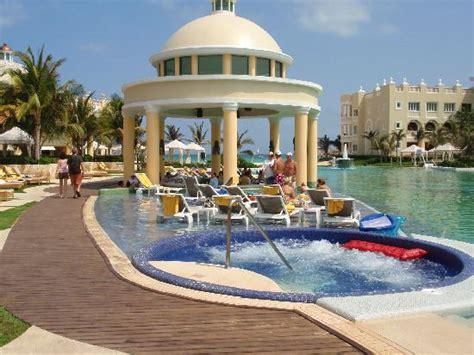 Swim up bar in the main pool   Picture of Iberostar Grand Hotel Paraiso, Playa Paraiso   TripAdvisor