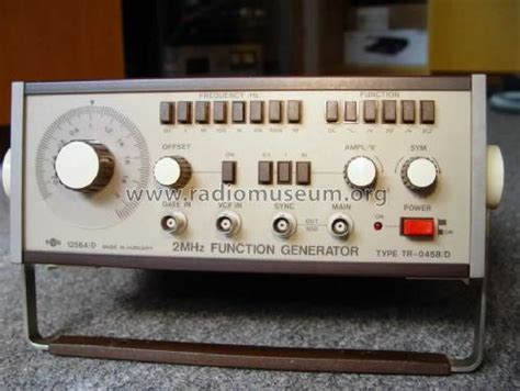 Function Generator Emg Equipment Elektroni
