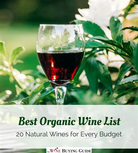 wine organic wines natural