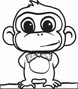 Gorilla Simple Drawing Getdrawings sketch template