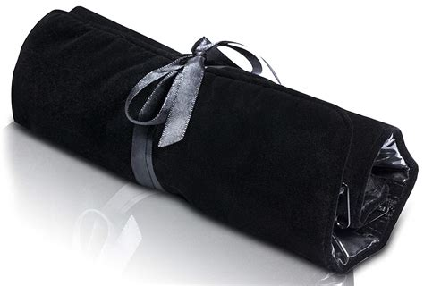 Soloportis Jewelry Roll Up Travel Organizer, Black Velvet Bag With Zipper Compar Gold Jewelry Video Pettet Designs Ltd Rental In Thailand Rick Terry Knoxville Tn Ghana Value Estimator Turning Copper