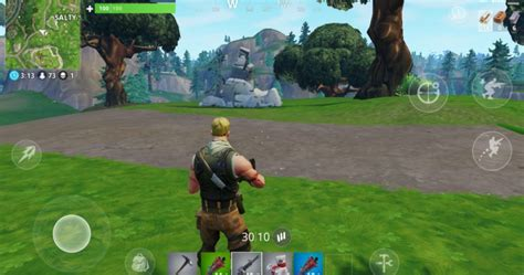 play fortnite mobile  pc  mac bluestacks