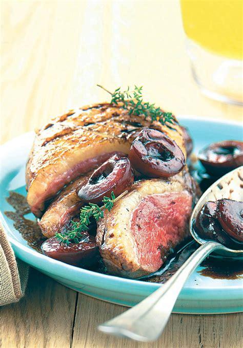 cuisine cagnarde recette magrets de canard aux cerises
