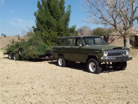 jeep kaiser wagoneer sell used 1969 jeep wagoneer kaiser era rare series 1 cj