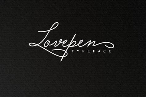lovepen font kreativ font