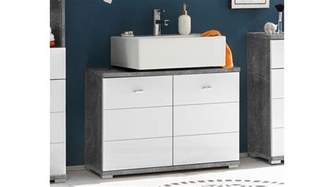 Badezimmer Unterschrank Beton by Waschbeckenunterschrank Pool Badezimmer In Beton Optik Und