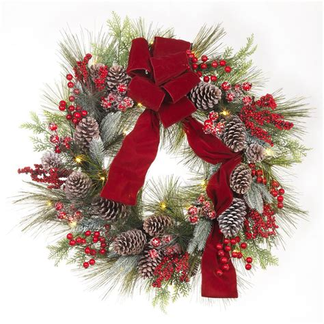 Home Accents Holiday 30 In Prelit Artificial Christmas