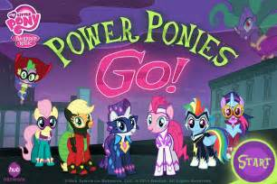 Go Power Ponies My Little Pony Game