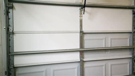 installing garage door insulation installing garage door insulation