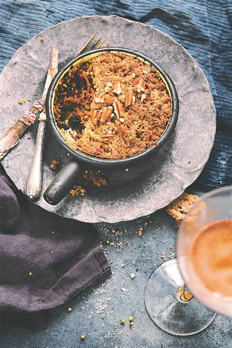 comment cuisiner les panais crumble salé aux légumes d hiver et noix de pécan 1 2 3