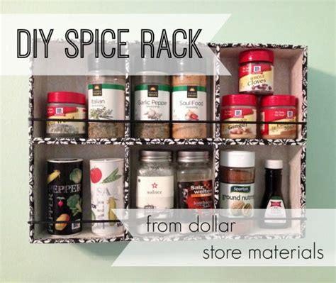 Dollar Store Spice Rack  Favecraftscom