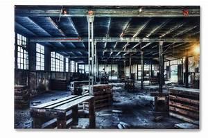 Tableau En Verre : tableau en verre factory 100x150cm tableau city pas cher ~ Melissatoandfro.com Idées de Décoration