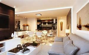 cuisine americaine avec ilot good fabulous charmant quel With meubler une petite cuisine 6 comment meubler votre cuisine semi ouverte archzine fr