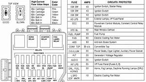 01 Mustang V6 Fuse Box Diagram