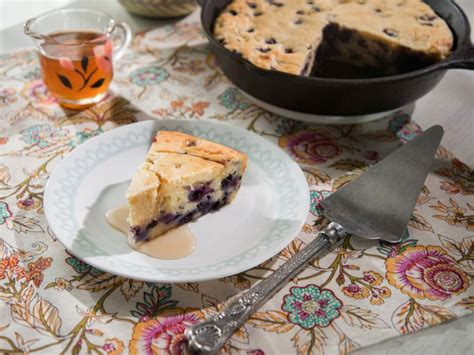 Toss the blueberries in 2 tablespoons of the flour in a medium bowl and set aside. Blueberry Pancake Cake Recipe | Trisha Yearwood | Food Network