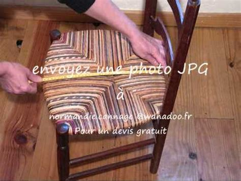 rempaillage de chaise devis rempaillage cannage 2011 wmv