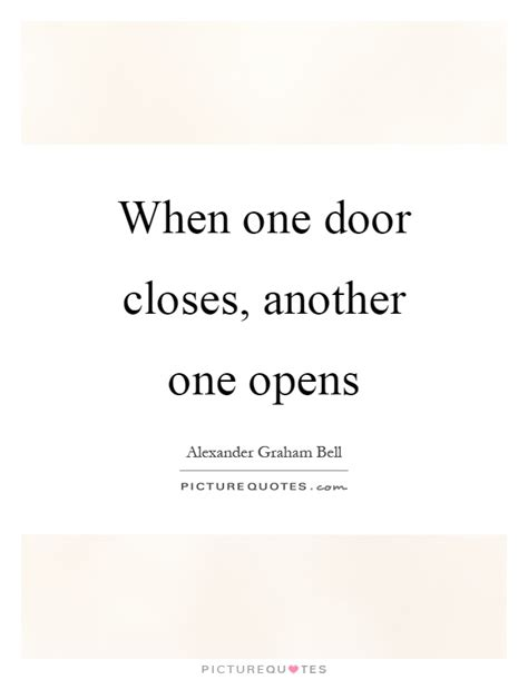 When One Door Closes Similar Quotes