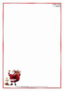 printable letter to santa claus blank paper santa border 5 With blank christmas letter paper