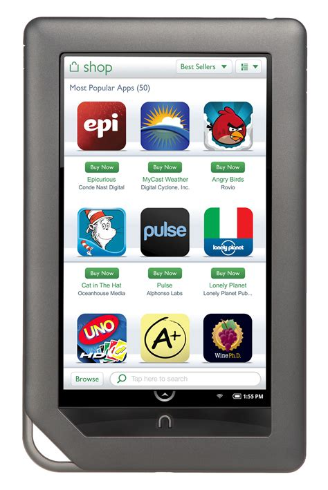 nook for android nook color update brings support for apps better browsing