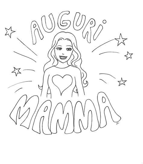 disegni per la mamma belli festa della mamma disegni da colorare gratis