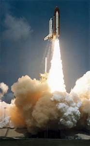 Space Shuttle launch, 1980s. by NASA at Science and ...
