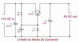 12v To 9v Converter Circuit