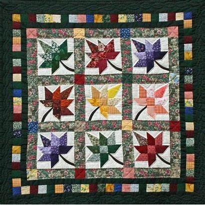 Quilts Quilt Amish Patterns Patchwork Autumn Splendor