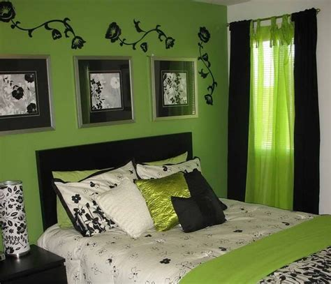 Bedroom Black White And Green by Best 25 Lime Green Bedrooms Ideas On Lime
