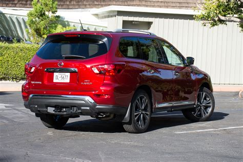 2018 Nissan Pathfinder Platinum 4wd Test Drive Review