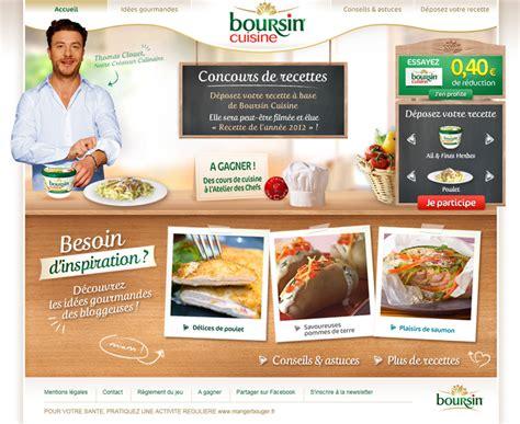 recette avec boursin cuisine concours de recette de cuisine avec du boursin cuisine