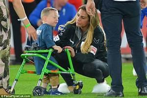 Katie Price and Kerry Katona at charity football match ...