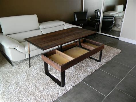 Enticing And Useful Convertible Coffee Table