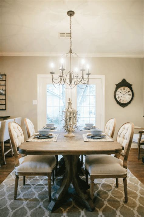 41271 fixer dining room rugs favorite fixer dining rooms
