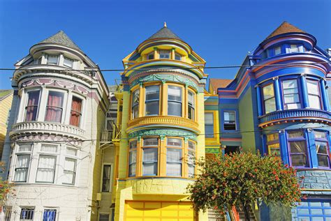 San Francisco Painted Ladies & Victorian Architecture