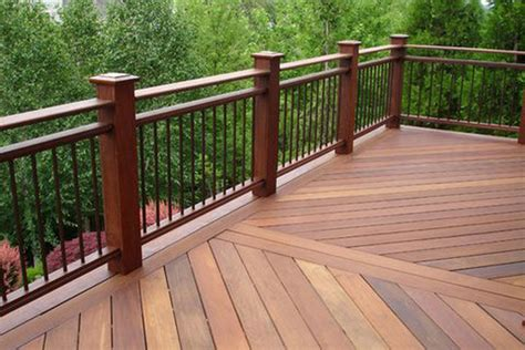 metal deck railing ideas architectural design