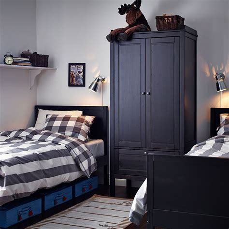 Small Wardrobe Black by Possible Layout For Boy S Bedroom A Black Brown Wardrobe