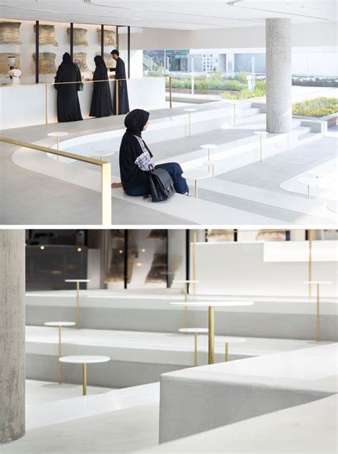 They have an indoor and outdoor area to hang out in. A Minimalist Coffee Shop With Stepped Seating Has Been Completed In Kuwait | Living room seating ...